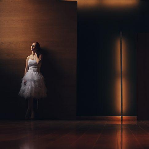 φωτογράφιση γάμου πορτραίτο νύφης