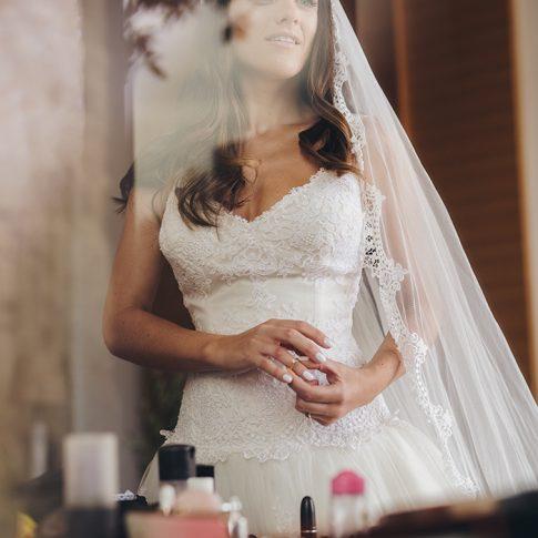 Φωτογράφιση Γάμου Δημήτρης Τσινιάς προετοιμασία νύφης