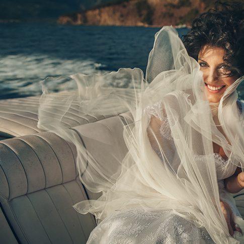 Φωτογράφιση Γάμου Δημήτρης Τσινιάς πορτραίτο νύφης ημέρας γάμου