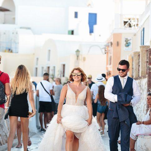 Φωτογράφιση Γάμου Δημήτρης Τσινιάς επόμενη ημέρα σαντορίνη