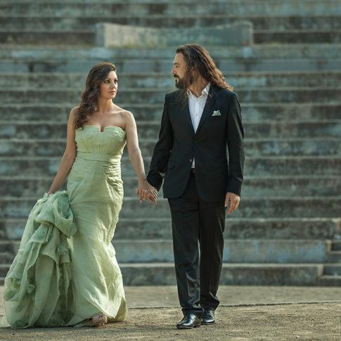 Κινηματογραφικό πορτραίτο ζευγαριού, φωτογράφιση γάμων Dimitris Tsinias Photography