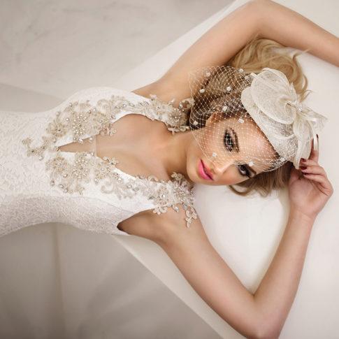 Πορτραίτο νύφης φωτογράφιση γάμων Dimitris Tsinias Photography